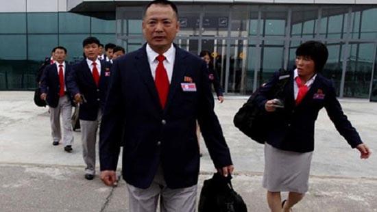 Đội CHDCND Triều Tiên đến Việt Nam
