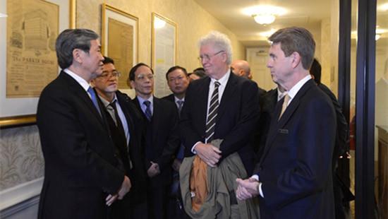 Thường trực Ban Bí thư Đinh Thế Huynh kết thúc chuyến thăm Hoa Kỳ