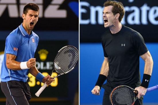 Murray và Djokovic - Ai lợi thế hơn?