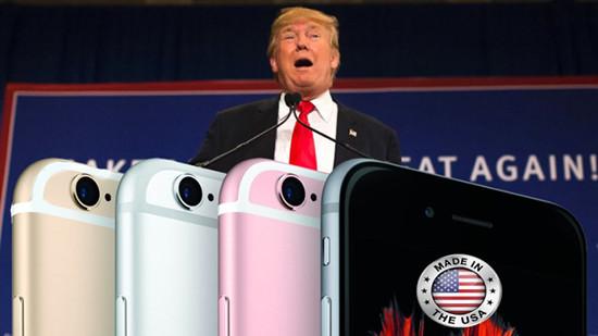 Apple đang xem xét sản xuất iPhone tại Mỹ