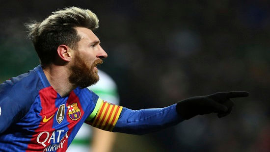 Champions League: Messi giúp Barca độc chiếm ngôi đầu