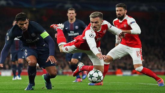 PSG cầm hòa Arsenal: Tự tin ngôi đầu bảng