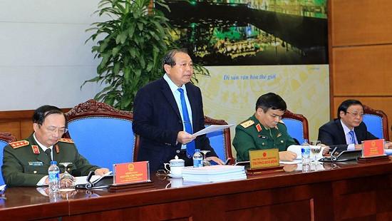 Phó Thủ tướng Trương Hòa Bình: Xét duyệt hồ sơ đặc xá phải công khai, tuân thủ đúng pháp luật