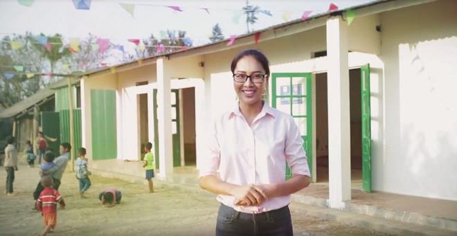 Diệu Ngọc mang dự án nhân ái tới Hoa hậu Thế giới 2016
