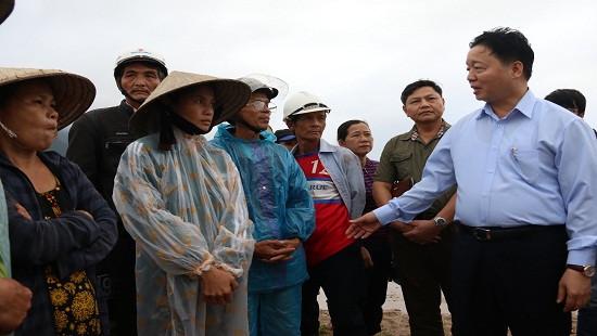 Bộ TN-MT hỗ trợ Quảng Nam 1 tỷ đồng khắc phục môi trường sau lũ
