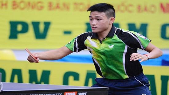 Anh Tú vô địch Giải bóng bàn Đông Nam Á