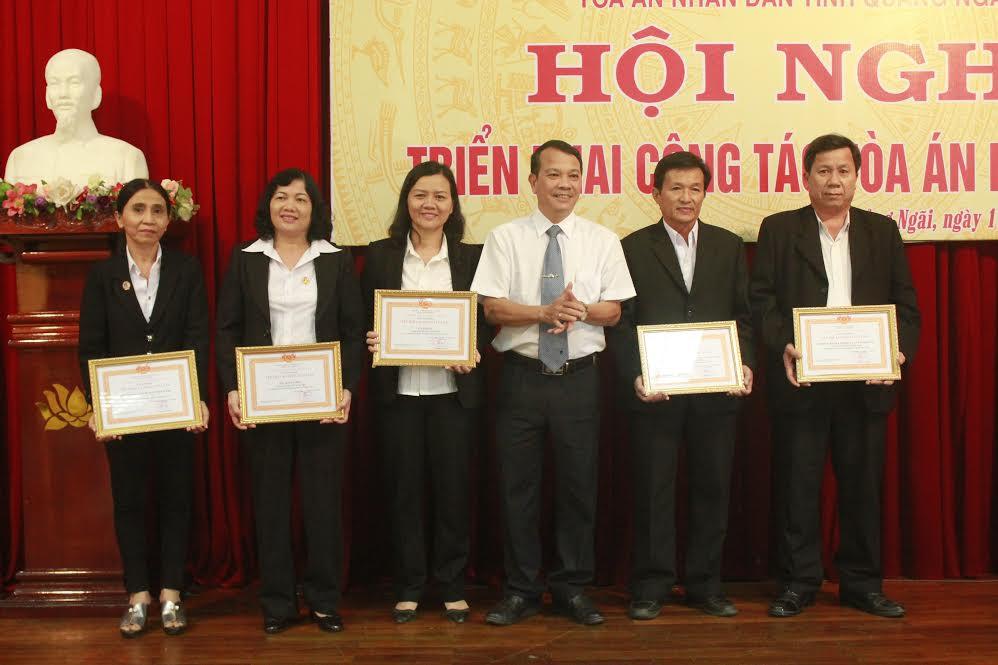 TAND tỉnh Quảng Ngãi tổ chức Hội nghị triển khai công tác năm 2017