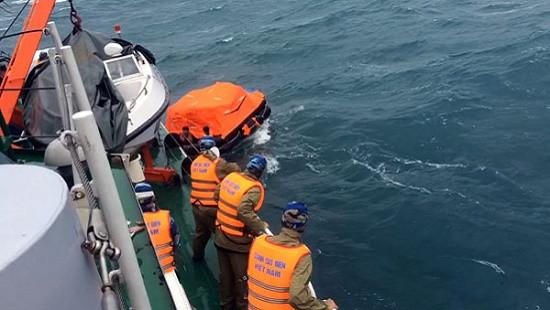 Tàu gặp nạn trên biển, 01 thuyền viên mất tích