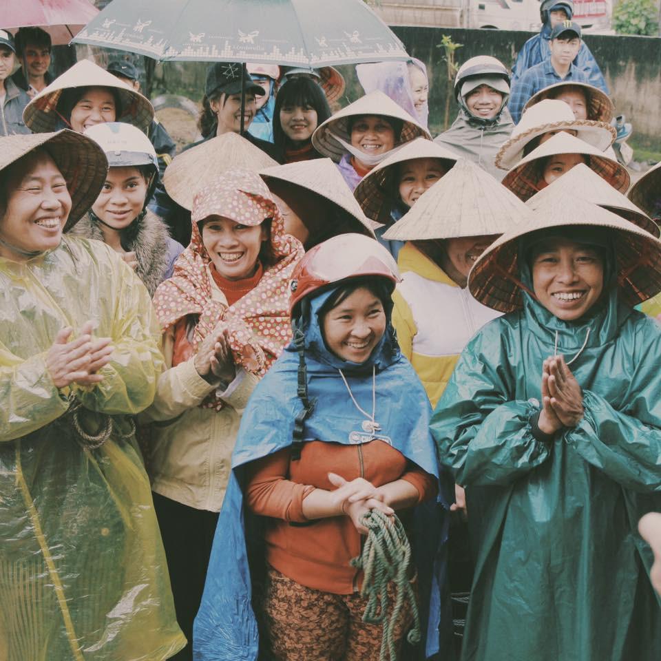 MC Phan Anh mang Tết đến cho người dân miền Trung