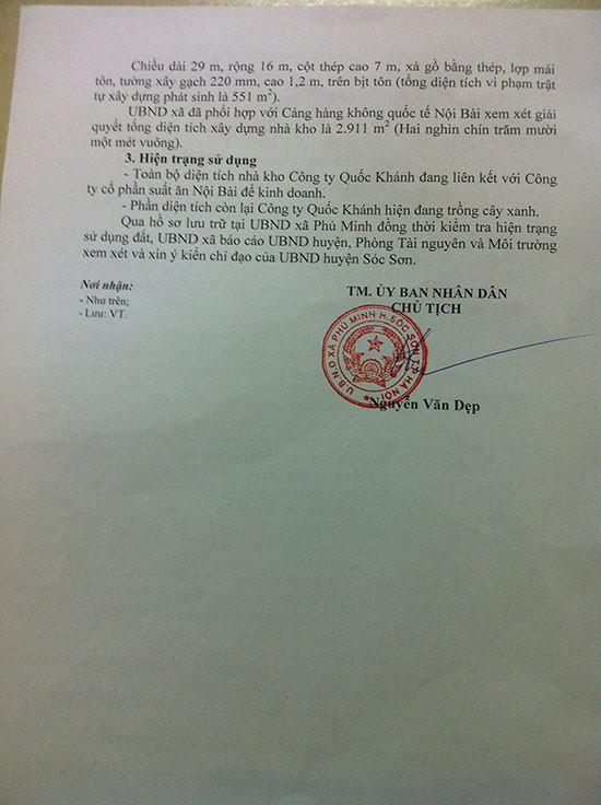 Phú Minh (Sóc Sơn, Hà Nội): Hàng nghìn m2 nhà xưởng xây dựng trên đất nông nghiệp