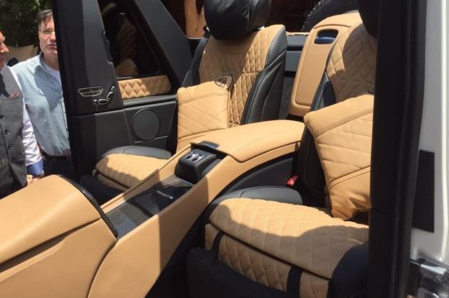 Hình ảnh Mercedes-Maybach Landaulet G650 bất ngờ bị phát tán