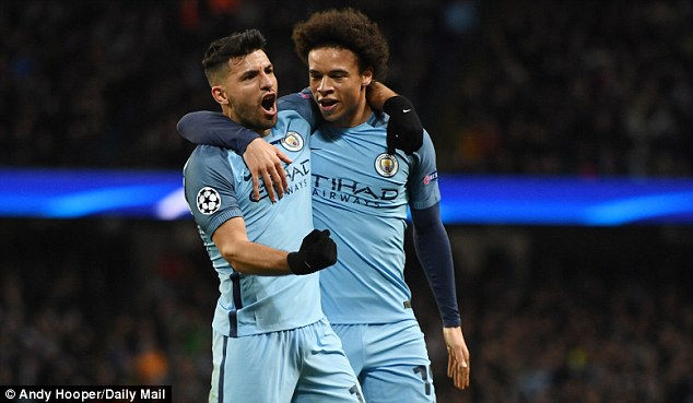 Champions League: Man City đánh bại Monaco trong trận cầu 8 bàn thắng