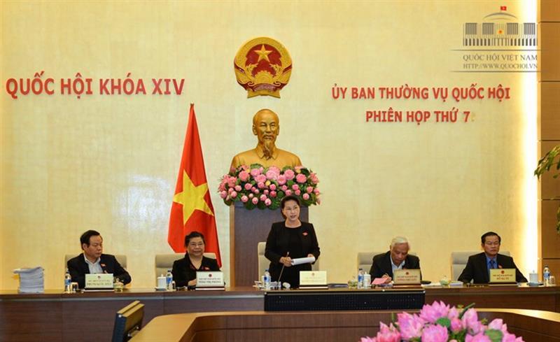 Ủy ban Thường vụ Quốc hội hoàn thành chương trình phiên họp thứ 7