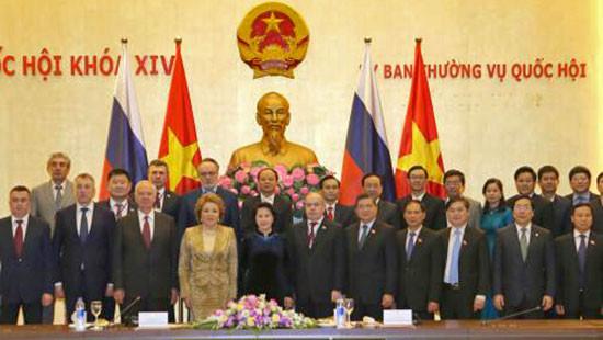 Chủ tịch Hội đồng LB Nga kết thúc tốt đẹp chuyến thăm Việt Nam