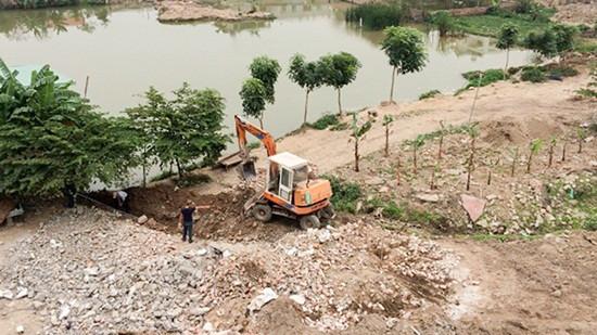 Phường Đằng Lâm (quận Hải An - TP Hải Phòng): Đất nông nghiệp đang bị san lấp trái phép