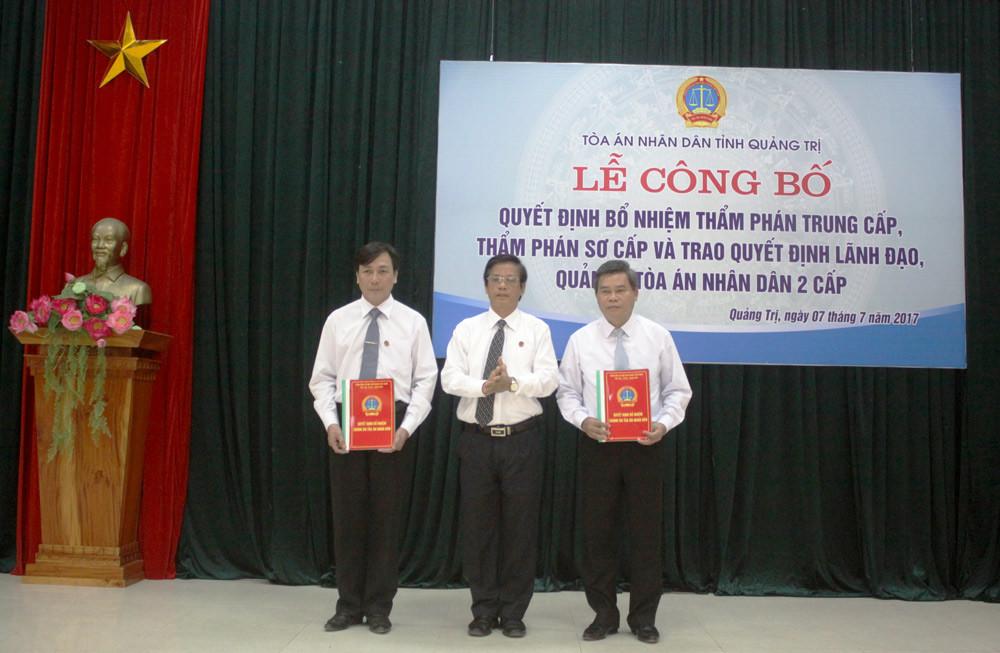 TAND tỉnh Quảng Trị tổ chức sơ kết công tác 6 tháng đầu năm 2017