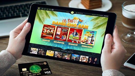 Xem phim miễn phí với thẻ tín dụng 3.0