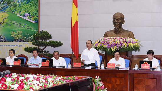 Các bộ, cơ quan, địa phương hạn chế cử người họp thay tại các phiên họp Chính phủ