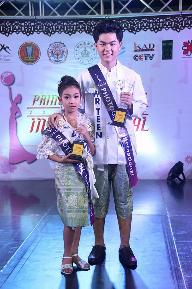 Huyền Vy và Quang Anh - giải Photogenic International Award