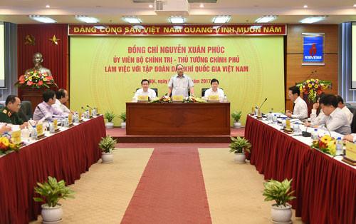 Thủ tướng: PVN cần tập trung xây dựng đội ngũ