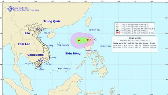 Áp thấp nhiệt đới sát Biển Đông, các địa phương chủ động ứng phó