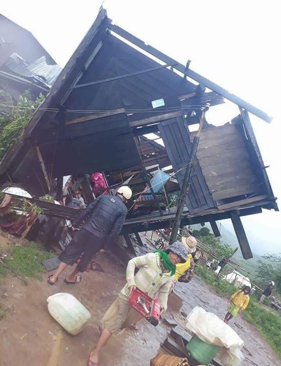 Tây Nguyên thiệt hại nặng nề sau bão số 12