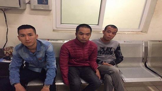 3 thanh niên mua ma tuý về sử dụng bị 141 bắt giữ