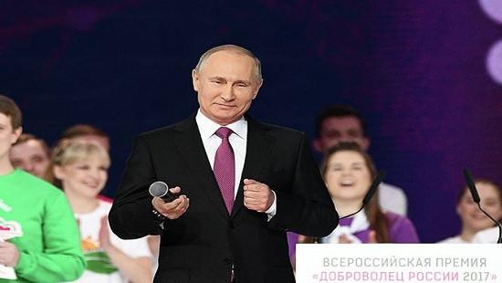 """Ông Putin sẽ làm nên """"kỳ tích"""" khi tuyên bố tái tranh cử Tổng thống vào năm 2018"""