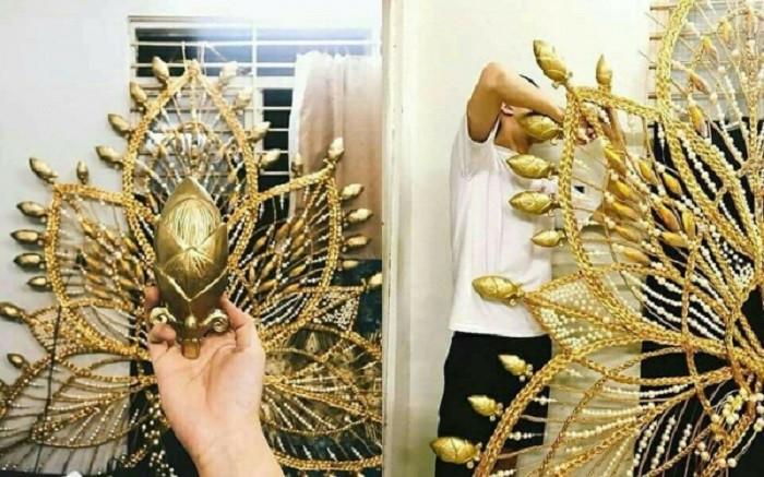 Hương Giang Idol vừa hé lộ trang phục dân tộc nặng 55kg