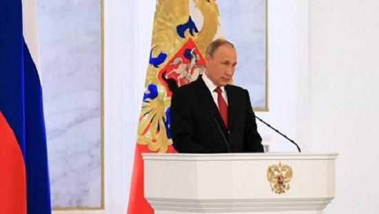 Tổng thống Putin đọc Thông điệp Liên bang cuối cùng của nhiệm kỳ
