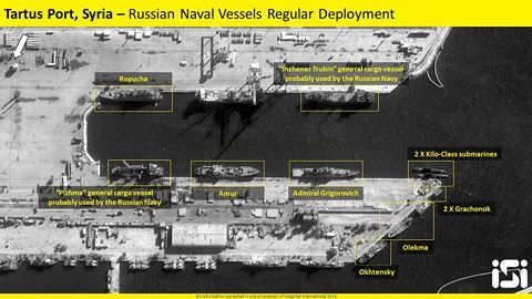Hàng loạt tàu chiến Nga ở Syria đã xuất kích chuẩn bị chiến đấu