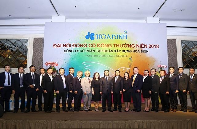 Công ty cổ phần xây dựng Hòa Bình mở rộng thị trường ra quốc tế