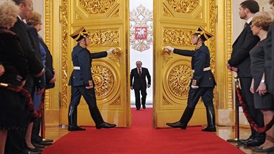 Ông Putin tuyên thệ nhậm chức Tổng thống nhiệm kỳ mới