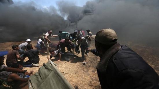 Thương vong của người Palestine tăng nhanh trong cuộc đụng độ với quân đội Israel