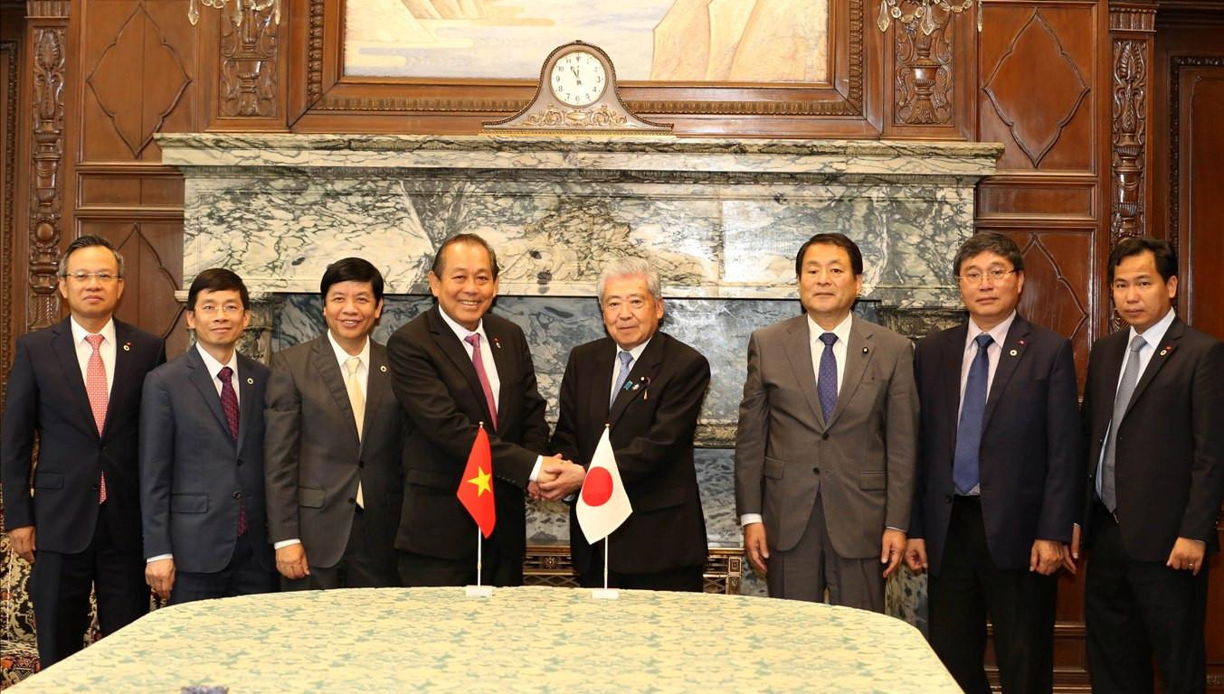 Việt Nam-Nhật Bản: Bước vào giai đoạn phát triển mới, thực chất hơn trong các lĩnh vực