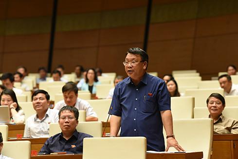 Đại biểu Quốc hội tranh luận về hàm cấp tướng đối với sỹ quan CAND