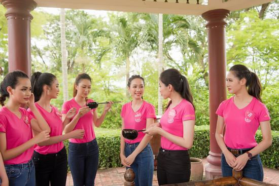 """Thí sinh Hoa hậu Việt Nam 2018 lĩnh hội tinh hoa """"đất võ"""" Bình Định"""