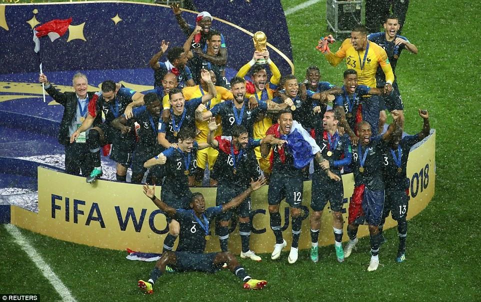 Chung kết World Cup 2018: ĐT Pháp lên ngôi vô địch