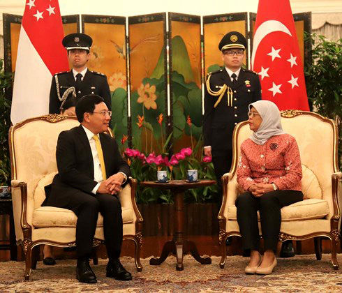 Việt Nam-Singapore: Quan hệ Đối tác Chiến lược hiệu quả thiết thực