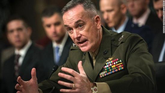 Mỹ lên phương án quân sự ở Syria theo lệnh Tổng thống Trump
