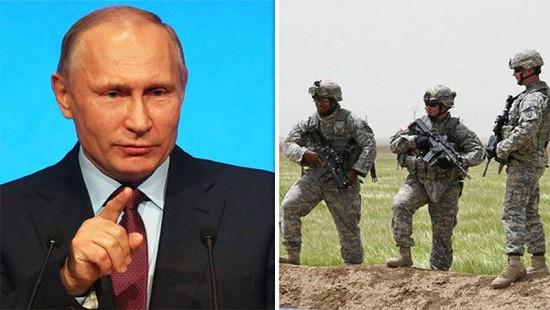 Tổng thống Putin cảnh báo sắp tấn công vào vùng có lính Mỹ ở Syria