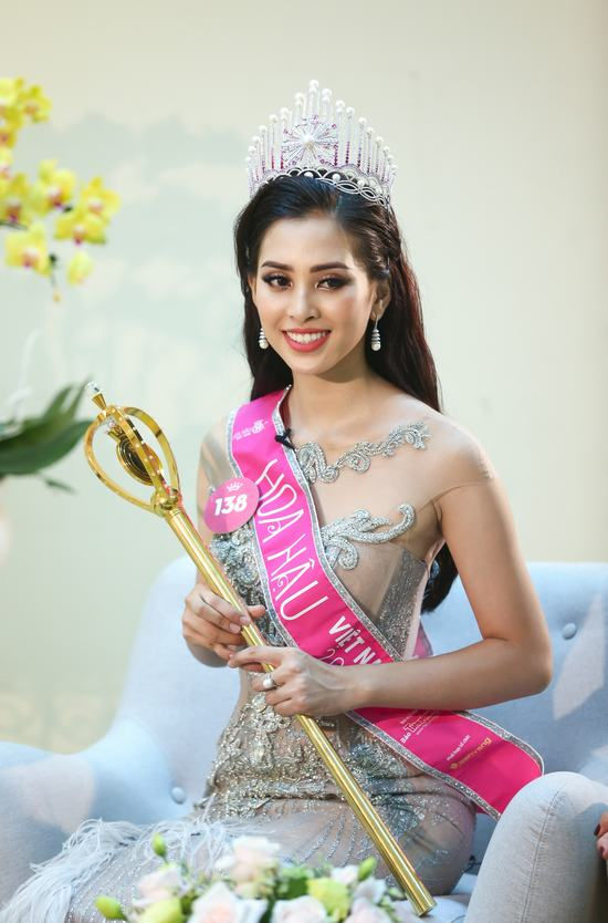 Hoa hậu Việt Nam 2018 Trần Tiểu Vy khẳng định chưa có người yêu
