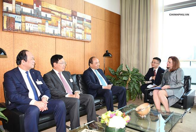 Thủ tướng kết thúc dự Phiên thảo luận cấp cao Đại hội đồng LHQ khóa 73