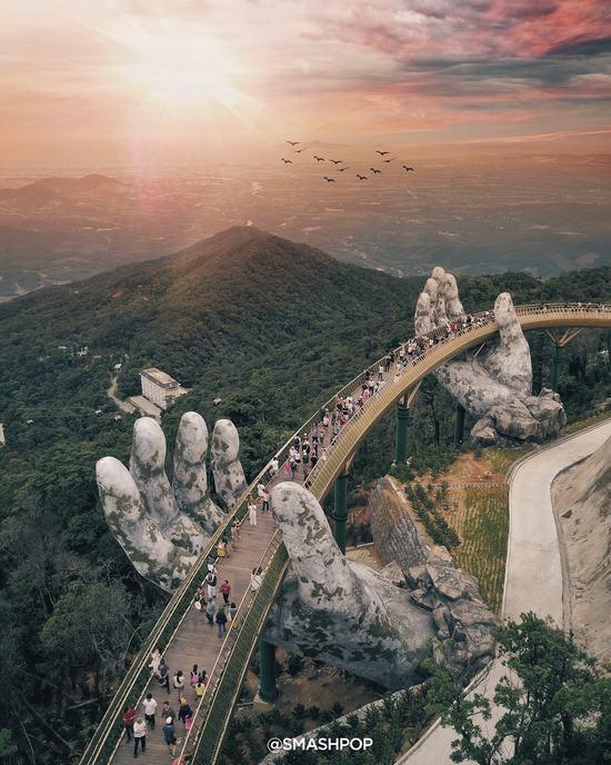 Thêm một cây cầu nữa trên thế giới sẽ được kiến tạo từ cảm hứng Cầu Vàng