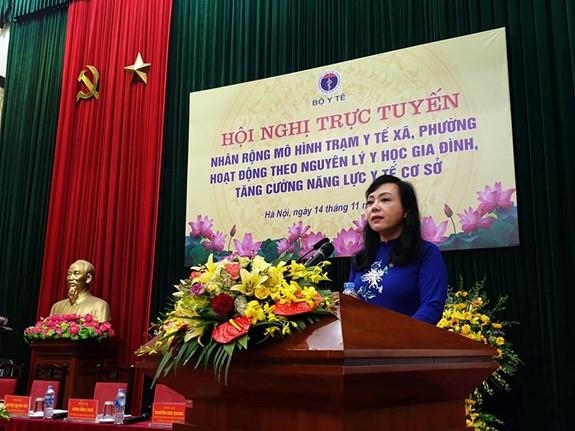 Bộ trưởng Y tế: Không để người nghèo ở lại phía sau trong chăm sóc y tế