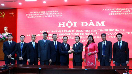 Hà Nội và Tứ Xuyên (Trung Quốc): Khảo sát để tìm ra cơ hội hợp tác phát triển