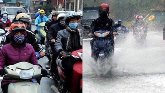 Miền Bắc duy trì rét đậm, miền Trung mưa to trong 5 ngày tới