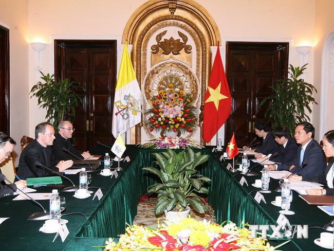 Quan hệ Việt Nam - Vatican đang phát triển theo chiều hướng tích cực