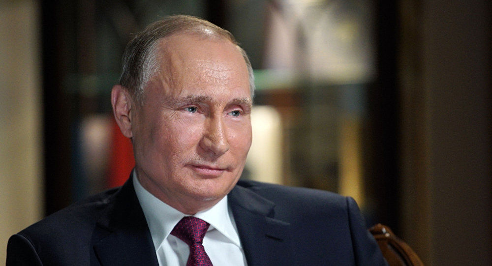 Tổng thống Nga Vladmir Putin