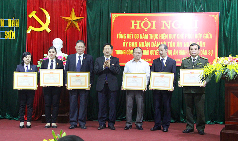 Công tác phối hợp giữa UBND và TAND tỉnh Lạng Sơn: Phù hợp với các quy định của pháp luật, mang lại hiệu quả tích cực